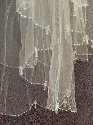 £30 • Buy Wed 2 Be Angel Wedding Veil / Bridal Veils  Made With Crystals & Drops