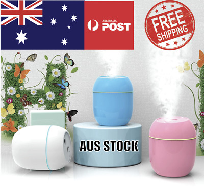 AU9.99 • Buy Electric Air Diffuser Aroma Oil Humidifier USB Night Light Up Home Relax Defuser