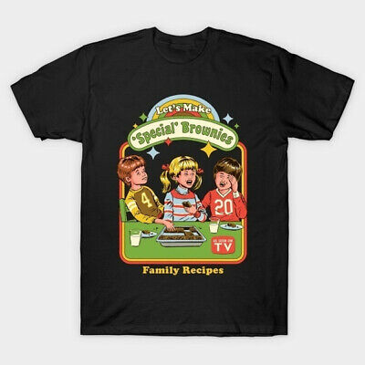 £6.96 • Buy Lets Make Special Brownies Halloween Comic Con Novelty Sci Fi Meme T Shirt
