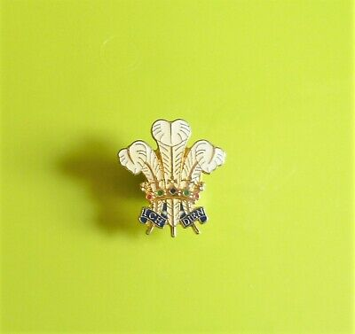 £1.99 • Buy Prince Of Wales Feathers Plume Stud Pin Badge Charity
