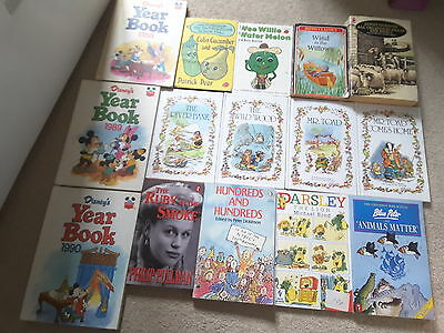 £4 • Buy Childrens Books Bundle, Wind In The Willows, Disney, Blue Peter Parsley The Lion