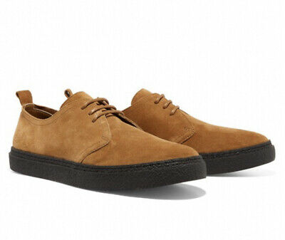 £49.99 • Buy Fred Perry Linden Suede Shoes Ginger Mens Size UK 10 EU 45 RRP £95 BNWT