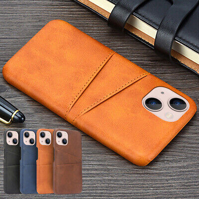 AU6.66 • Buy For IPhone 13 12 Pro Max 11 XS XR 8 7 Plus Leather Wallet Credit Card Slot Case