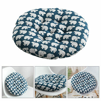 £8.12 • Buy Nordic Round Cotton Cushion Dining Chair SEAT PADS Thick Garden Floor Cushion