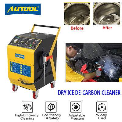 £2699.99 • Buy Dry Ice CO2 Decarbon Cleaning Machine Car Intake Valve Throttle Blasting Cleaner