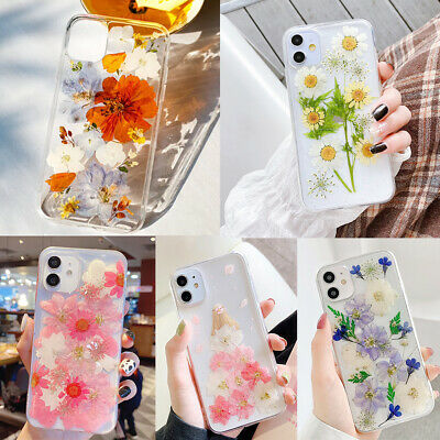 AU9.99 • Buy For IPhone 13 12 Pro Max Shockproof Flower Floral Clear Case Shockproof Cover