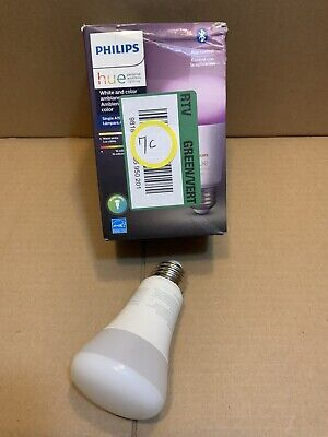 AU18.72 • Buy Philips Hue A19 Bluetooth Smart LED Bulb 60W White And Color Ambiance 548487 #7c