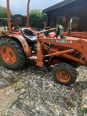 £3300 • Buy Kubota Compact Tractor Digger With Loader And Backactor Backhoe