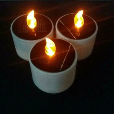 £2.54 • Buy Solar Candle Power LED Candles Flameless Electronic Lights Cylindrical S4L7