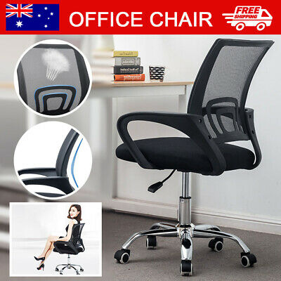 AU61.99 • Buy Gaming Office Chair Executive Computer Chairs Work Seat Mesh Recliner Racer