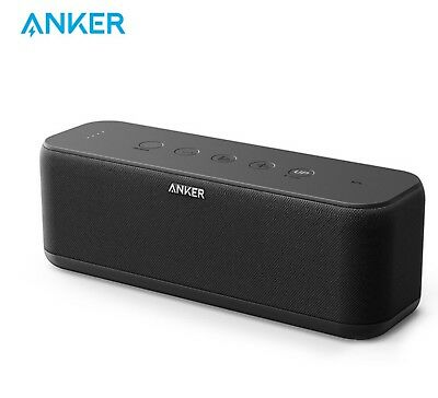 AU79.87 • Buy Anker SoundCore Boost 20W Bluetooth Speaker With BassUp Technology 12h Playtime