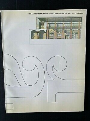 £13 • Buy Architectural Review 1017 November 1981 Lasdun In Luxembourg Lutyens Lives