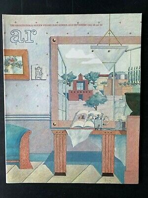 £15.60 • Buy Architectural Review 1015 September 1981 House Special Issue