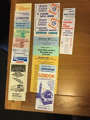 £12.50 • Buy Northern Scottish , Express Service Timetables, X 17, Dated 1978-1985.