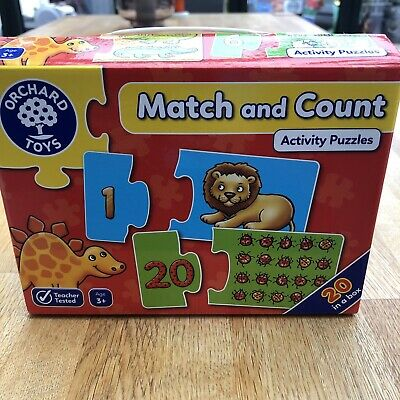£1.20 • Buy Orchard Toys Match And Count Activity Puzzles