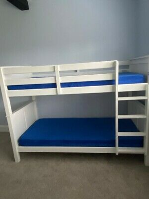 £100 • Buy Dreams White Wooden Bunk Beds
