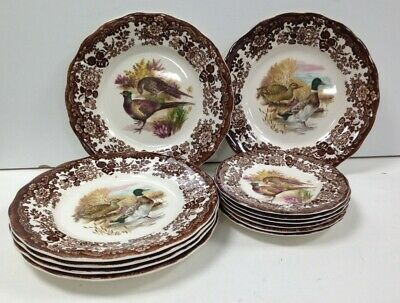 £11.49 • Buy Palissy Royal Worcester Group Game Series Plates And Side Plates #100