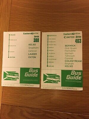 £1.99 • Buy Eastern Scottish, Timetables, X 2, Dated 1981.