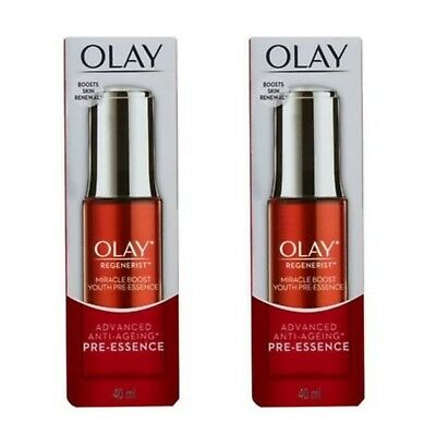 AU40.95 • Buy Olay Regenerist Miracle Boost Youth Pre-essence  X2 RRP $90