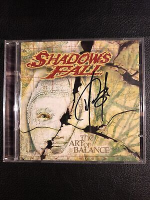 AU9.16 • Buy 2002 Shadows Fall The Art Of Balance 2 CD Limited Signed By 1! Century Media