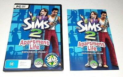 £10.30 • Buy The Sims 2: Apartment Life Expansion Pack - PC Video Game - EA - 2008