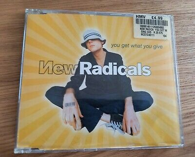£1.50 • Buy New Radicals. You Get What You Give. Cd Single 1999