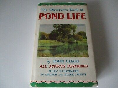 £3.99 • Buy The Observer's Book Of  Pond Life  - 1963