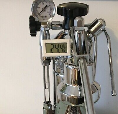 £21.92 • Buy Thermometer + Metal Support Enclosure For La Pavoni Grouphead Coffee Machine