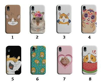 AU18.38 • Buy Hamster Phone Case Cover Hamsters Face Pet Funny Cute Gift Guinea Pig Pigs 8030J