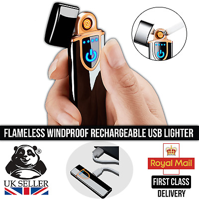 £4.99 • Buy Touch Sensitive Flameless Windproof Rechargeable Electric USB Cigarette Lighter