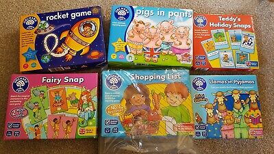 £7 • Buy Orchard Toys - 6 X Games Bundle