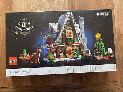 £66 • Buy LEGO Creator Expert Elf Club House 10275 Christmas Built Once Complete Set Boxed