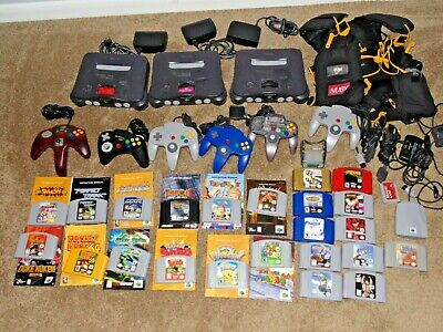 AU1198.31 • Buy Nintendo 64 N64 Consoles And Games Lot