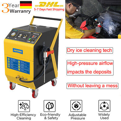 £2536.76 • Buy Dry Ice CO2 Blasting Cleaner 0.3~1.0Mpa Car Deposits Cleaning Machine Equipment