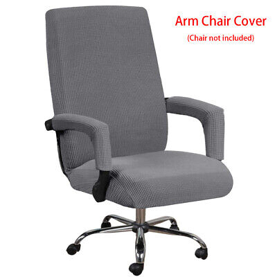 AU14.75 • Buy Stretch Swivel Computer Chair Cover Slipcovers Desk Seat Cover Protector Office