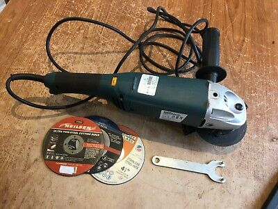 £18 • Buy Workzone 115mm Grinder - 1200w + Discs - Variable Speed - VGC - Herefordshire