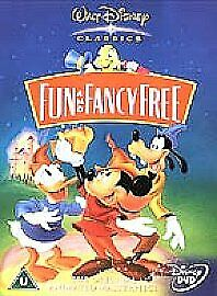 £0.50 • Buy Fun And Fancy Free (Live Action / Animated) (DVD, 2002)walt Disney