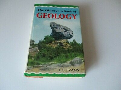 £3.99 • Buy The Observer's Book Of Geology -  1968