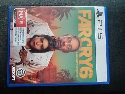AU60 • Buy Far Cry 6 - PS5 Game - Brand New, Never Used (not In Plastic)
