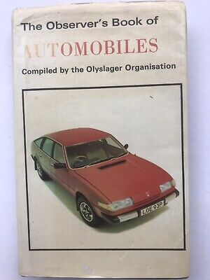 £2.99 • Buy The Observer's Book Of Automobiles 1977