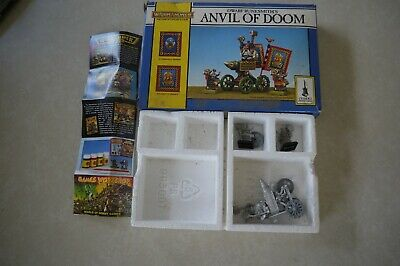 £16 • Buy  Warhammer Fantasy Anvil Of Doom Unpainted Figures  3 Figures Only With Box And