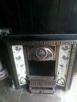£275 • Buy Cast Iron Fireplace / Fire Surround / Tiled Insert / Victorian Style