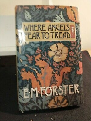 £1.25 • Buy Where Angels Fear To Tread E M Forster Hardback With Dustcover 1988