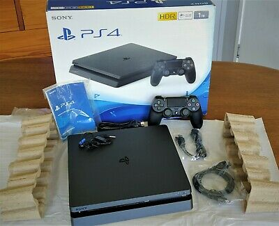 AU212.50 • Buy Playstation PS4 Slim CUH-2202A 500 GB Complete In Box And In Very Good Condition