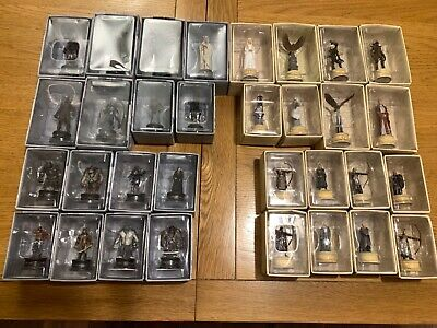 £180 • Buy Lord Of The Rings Eaglemoss Chess Set 2 Complete.