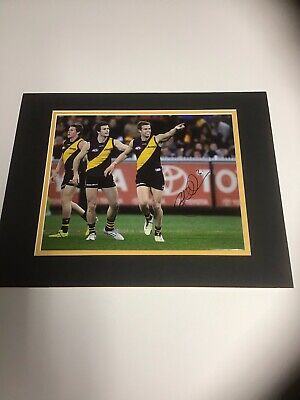 AU14.99 • Buy Brett Deledio Signed And Matted Photo Richmond Tigers