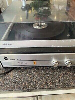 £10 • Buy Fidelity UA4 Music Master Solid State Record Player. No Needle Working Otherwise