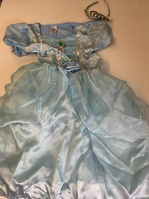 £0.99 • Buy Cinderella Fairy  Dressing Up Fancy Dress Outfit Size 6-8 Years