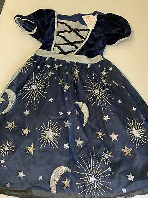 £0.99 • Buy Girls Moon And Stars Fairy  Dressing Up Fancy Dress Outfit Size 6-8 Years
