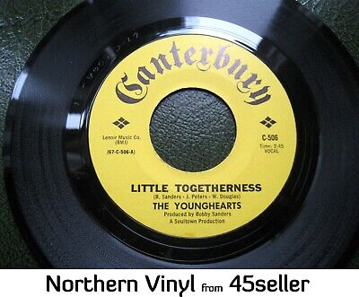 £250 • Buy YOUNGHEARTS 'Little Togetherness' NM Unplayed ? ORIGINAL Northern Soul 45